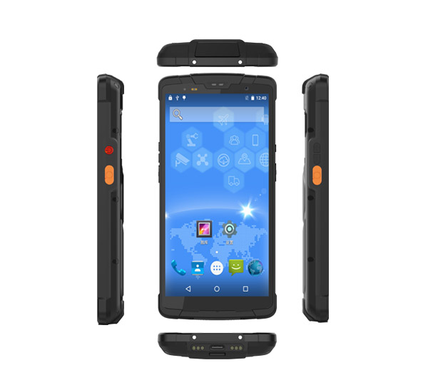 手持终端 Android CC628 三维结构图  可代开发APP