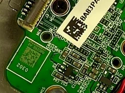 PCB镭雕二维码 DataMatrix 识别 DM码读码