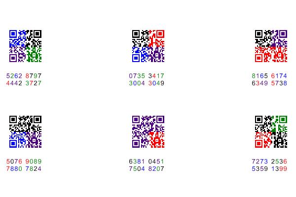 彩色二维码  标签打印软件 条码打印 渐变色彩色二维码打印软件