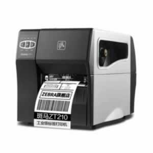斑马 ZT210 可使用 智高标签打印软件 2019,自由编辑、打印标签